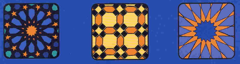 assorted Moorish tiles